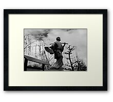 Powerful Beauty Framed Print