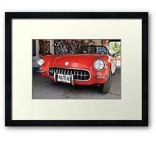 Route 66 Corvette Framed Print