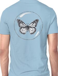 """""""Will you miss me?"""" -Asked the butterfly. II Unisex T-Shirt"""