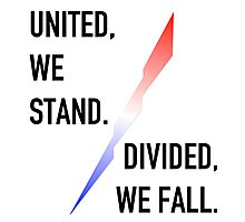 United We Stand / Divided We Fall Photographic Print