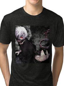 Tokyo ghoul Ken Tri-blend T-Shirt