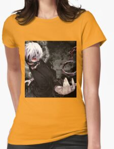 Tokyo ghoul Ken Womens Fitted T-Shirt