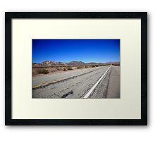 California Route 66 Framed Print