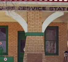66 Super Gas Station Sticker