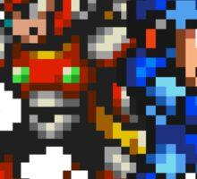 Megaman X And Zero Sticker