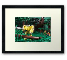 LIU Heavy Lumberjack Hardsuit Framed Print