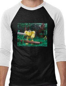 LIU Heavy Lumberjack Hardsuit Men's Baseball ¾ T-Shirt