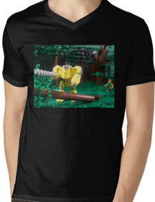 LIU Heavy Lumberjack Hardsuit Mens V-Neck T-Shirt