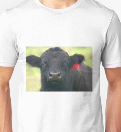 INQUISITIVE ANGUS BULL Unisex T-Shirt