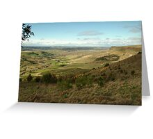 Joe Mortelliti Gallery - Rowsley valley, near Bacchus Marsh, Victoria, Australia.  Greeting Card