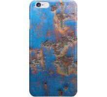 Rusted Blue iPhone Case/Skin
