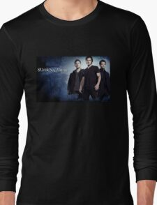 supernatural time old retro Long Sleeve T-Shirt