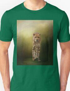 Brave Enough - Cheetah Art Unisex T-Shirt