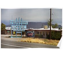 Route 66 - Frontier Motel Poster