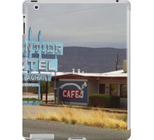 Route 66 - Frontier Motel iPad Case/Skin