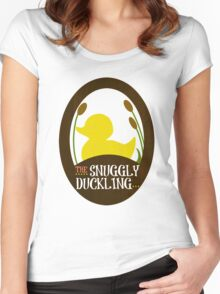 The Snuggly Duckling Pub and Brewery Women's Fitted Scoop T-Shirt