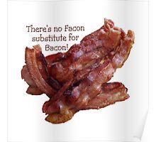 No Facon Bacon! Poster