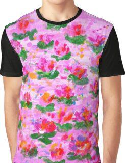 Gentle Petals Graphic T-Shirt