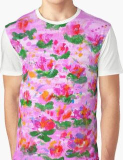 Gentle Petals Graphic T-Shirt