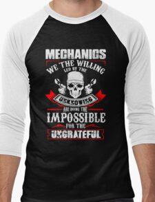 Mechanic Quantum Men's Baseball ¾ T-Shirt