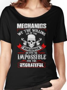 Mechanic Quantum Women's Relaxed Fit T-Shirt