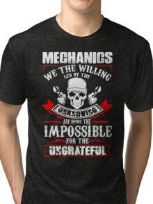 Mechanic Quantum Tri-blend T-Shirt