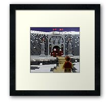 Welcome to One of Tacita's Tombs Framed Print