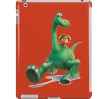 funny the good dinosaurus iPad Case/Skin