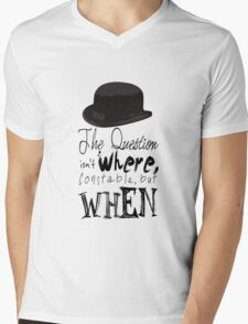 The question isn't where Constable, but when. Mens V-Neck T-Shirt