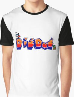 Dig-Dug Graphic T-Shirt