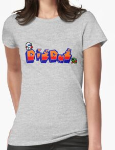 Dig-Dug Womens Fitted T-Shirt