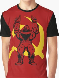 Zangief The Red Cyclone Graphic T-Shirt