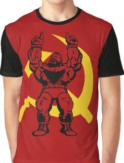 Zangief The Red Cyclone Graphic T-Shirt
