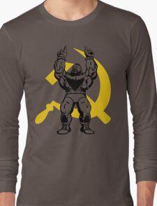 Zangief The Red Cyclone Long Sleeve T-Shirt