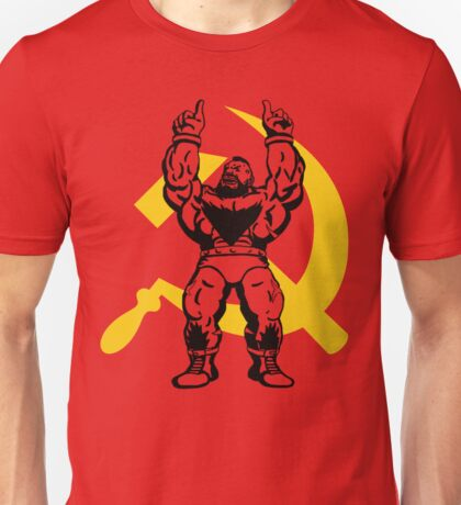 Zangief The Red Cyclone Unisex T-Shirt