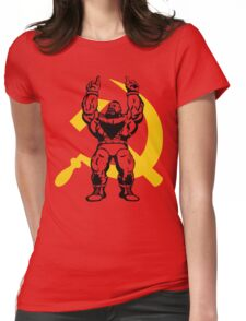 Zangief The Red Cyclone Womens Fitted T-Shirt