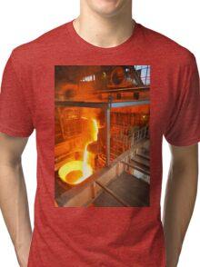 Metal Liquid Tri-blend T-Shirt