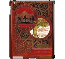 Alice In Wonderland Featuring The Cheshire Cat iPad Case/Skin