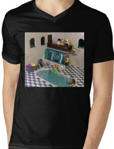 The Spa of Niflheim Mens V-Neck T-Shirt