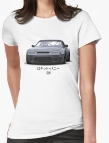 240SX Rocket Bunny Render Womens Fitted T-Shirt