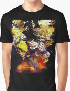 CREW GOKU Graphic T-Shirt