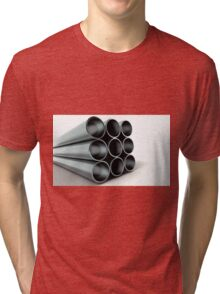 Strong Pipe Tri-blend T-Shirt