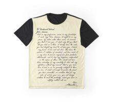 Alex & Laurens Letter Graphic T-Shirt