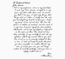 Alex & Laurens Letter One Piece - Short Sleeve
