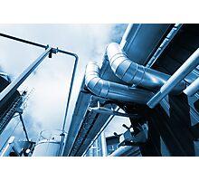 Factory Metal Photographic Print