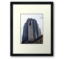 Sacramento Skyscraper Framed Print
