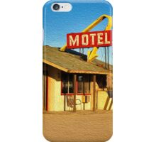 Old Motel iPhone Case/Skin