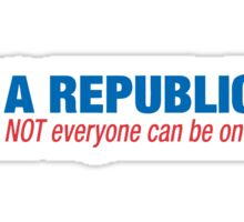 i'm a republican Sticker