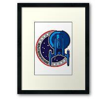 Star Trek - Enterprise Insignia Framed Print