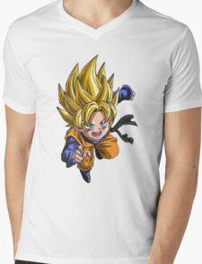 goten Mens V-Neck T-Shirt
